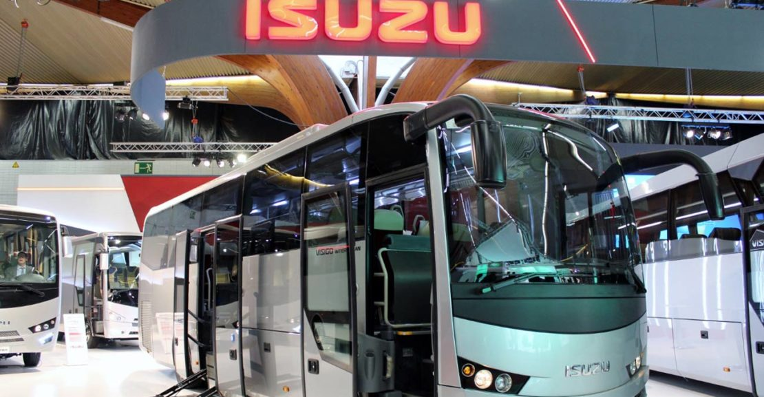 Isuzu na Busworld 2015- Kortrijk